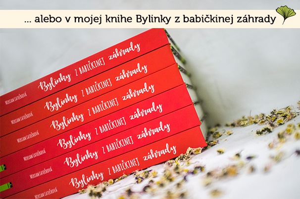 Kniha Bylinky z babičkinej záhrady