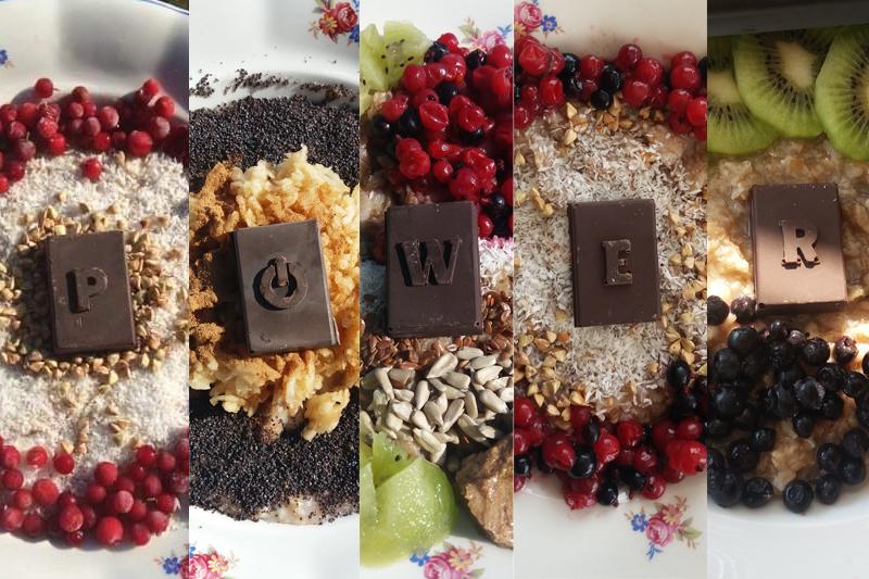 5 tipov na raňajkové kaše od pondelka do piatku. Vždy mega chutné, vždy inak pripravené, vždy z iných ingrediencií, ale vždy s tabličkou 90% čokolády od Powerlogy J Lebo sú dni, kedy si to telo jednoducho žiada